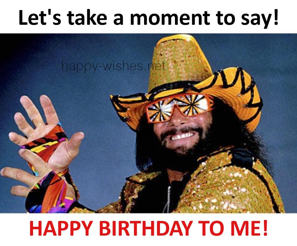 say happy birthday to me meme