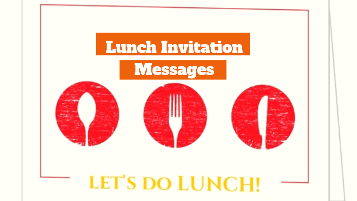 Lunch Invitation Messages