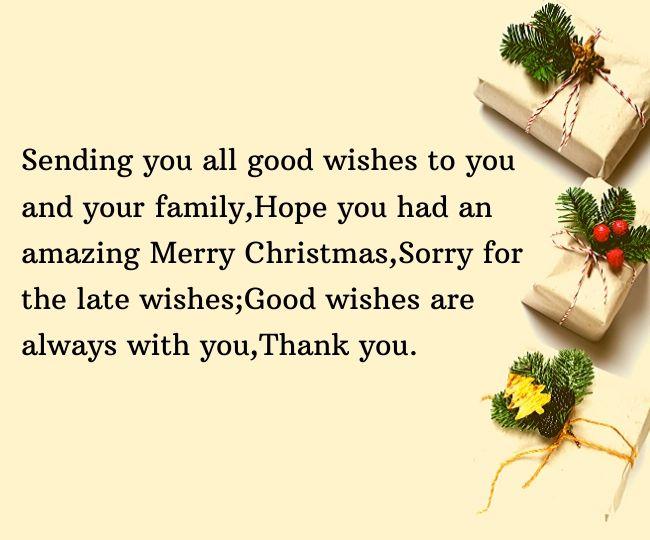 Belated Christmas Wishes (1)