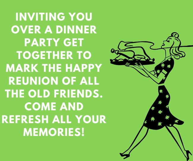 Dinner Invitation messages for Friend