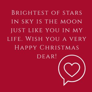 Happy Christmas my love